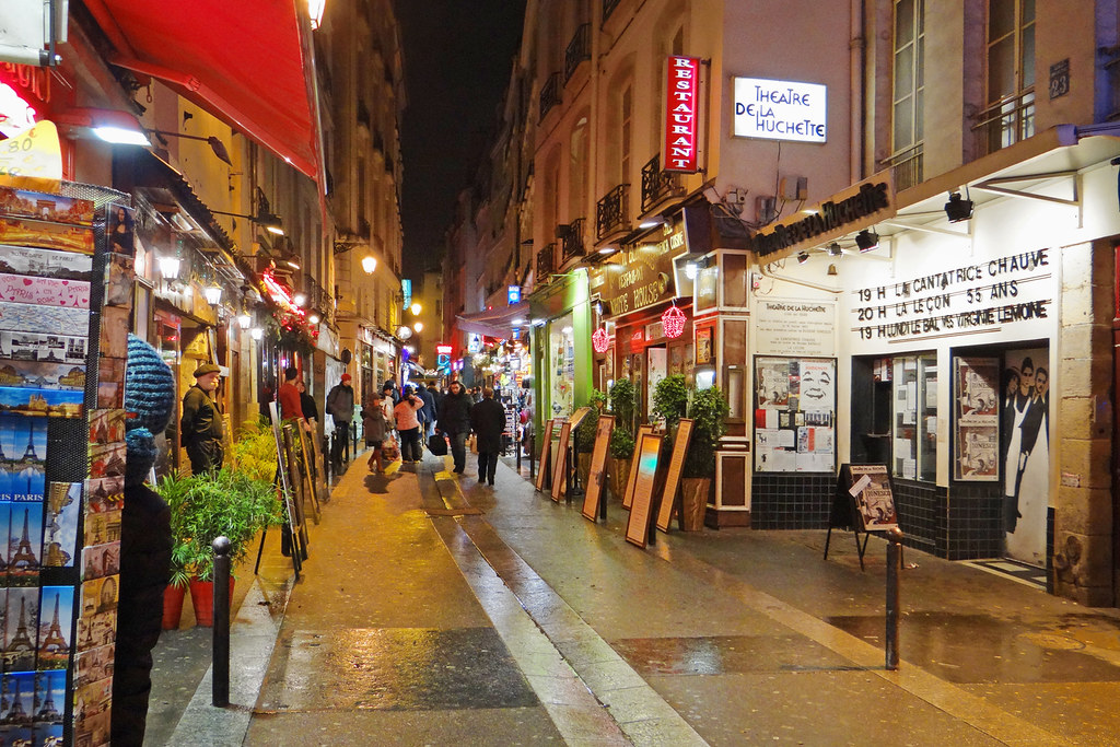 Paris quartier Latin